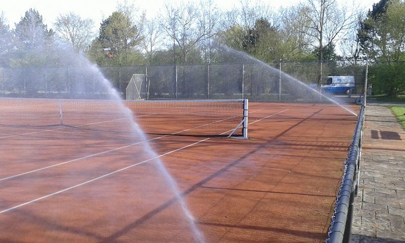 bbg bv beregening tennisbaan