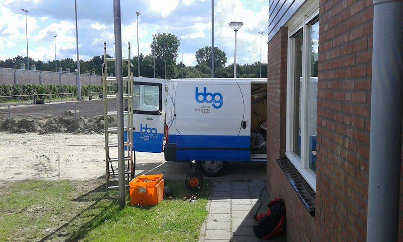 Beregening BBV BV tuin in Zeeland